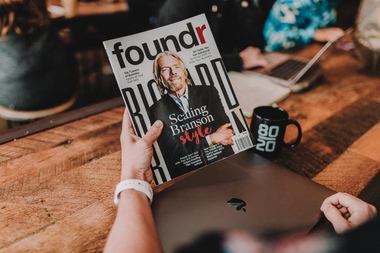 Qualities of a Good Leader - Sir Richard Branson leadership skills magazine feature